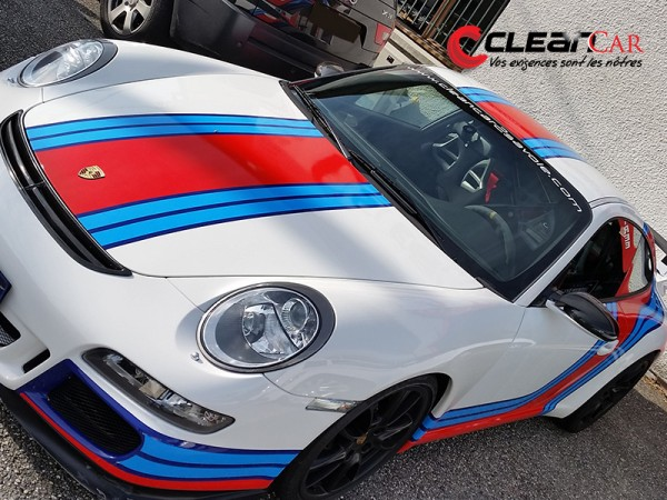 Bandes Porsche Martini covering partiel